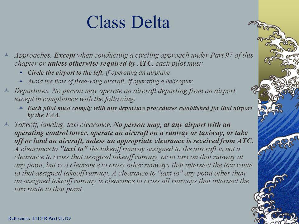 Class Delta