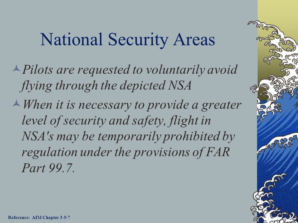 National Security Areas