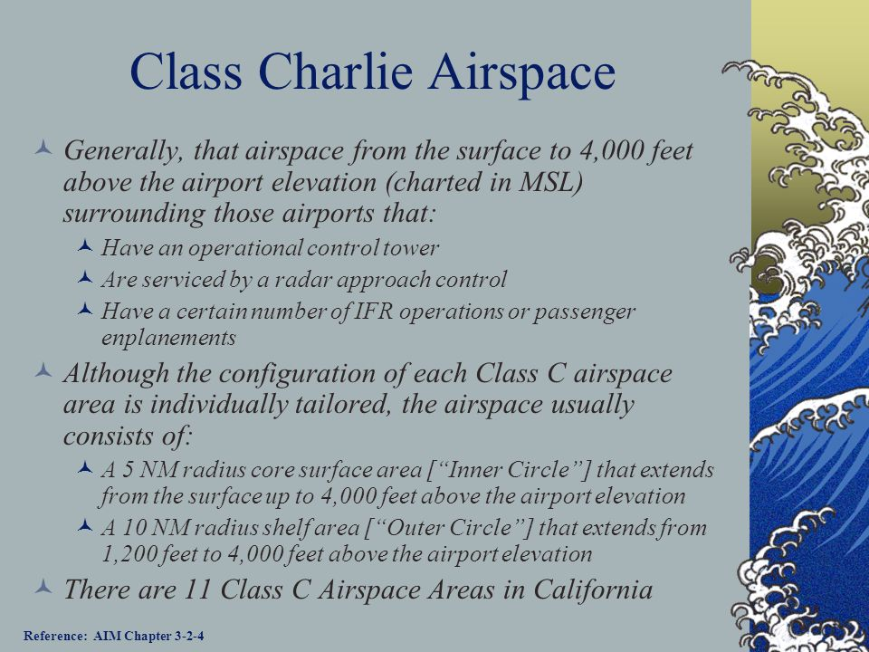 Class Charlie Airspace