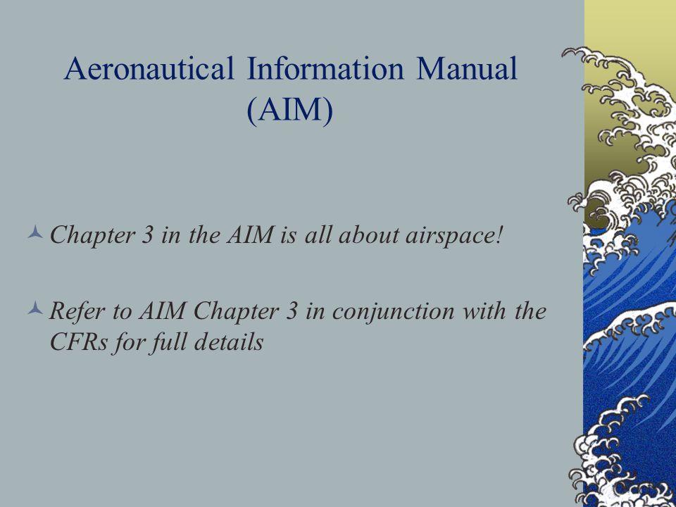 Aeronautical Information Manual (AIM)