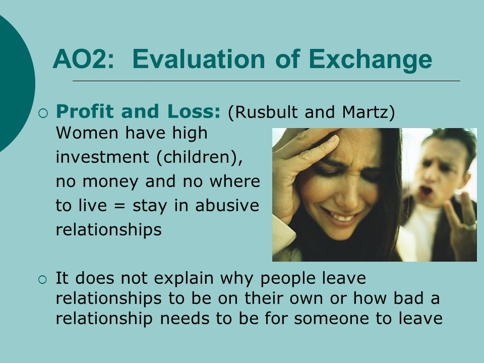 AO2: Evaluation of Exchange
