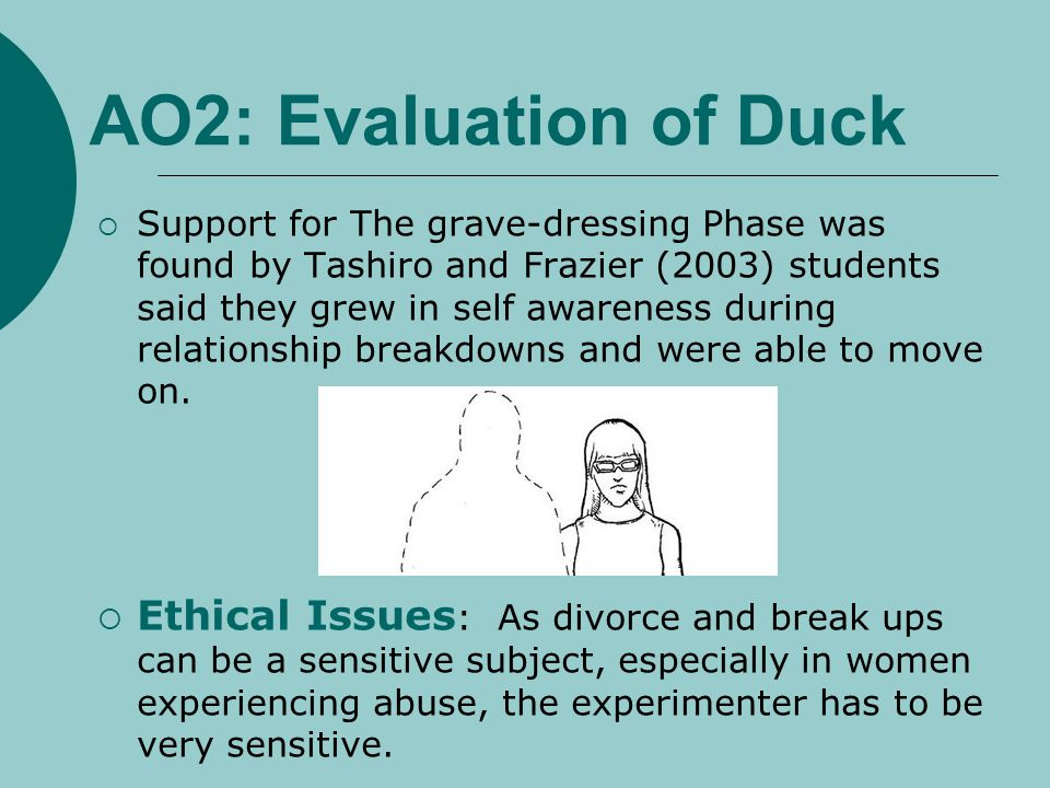 AO2: Evaluation of Duck