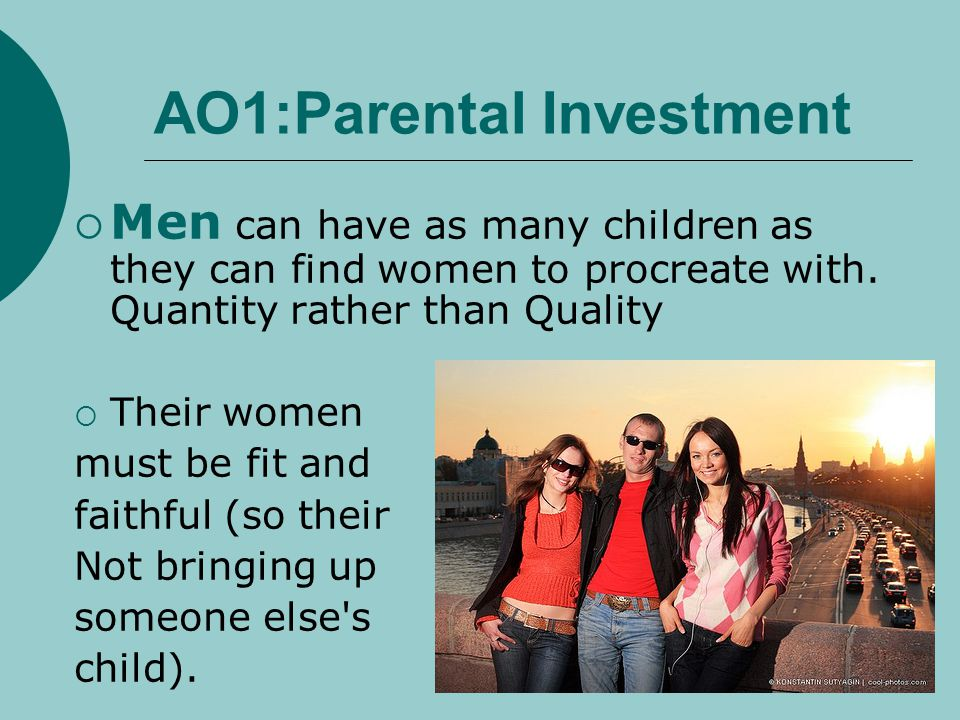 AO1:Parental Investment