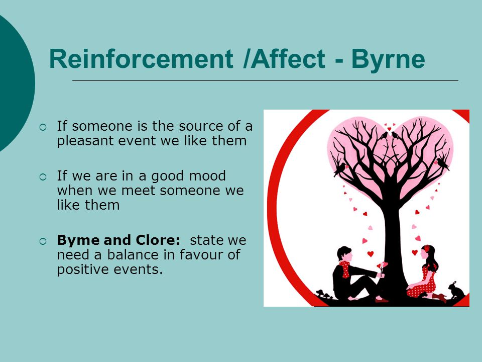 Reinforcement /Affect - Byrne