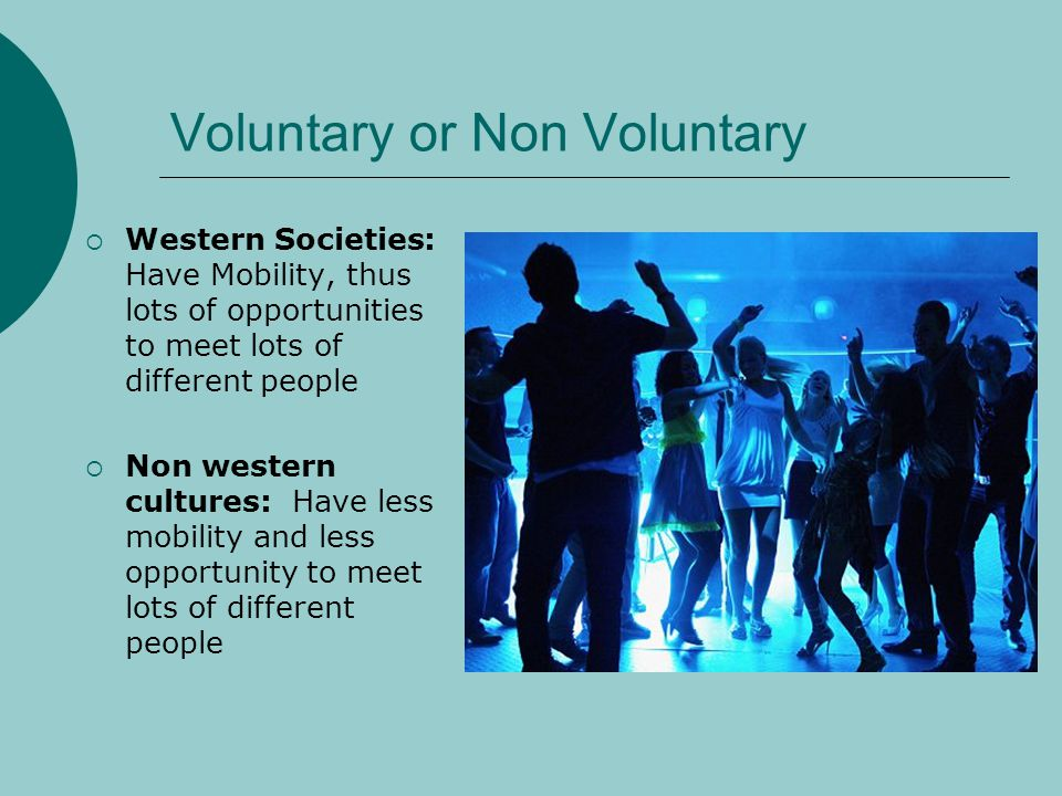 Voluntary or Non Voluntary