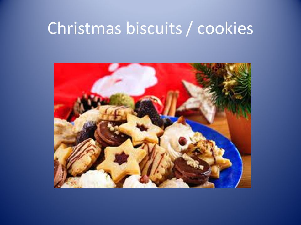 Christmas biscuits / cookies