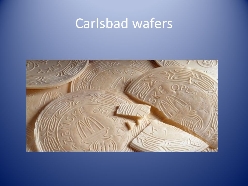 Carlsbad wafers
