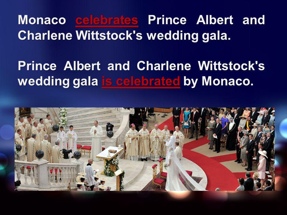 Monaco celebrates Prince Albert and Charlene Wittstock s wedding gala.