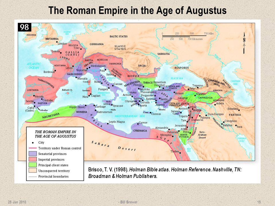 The Roman Empire in the Age of Augustus