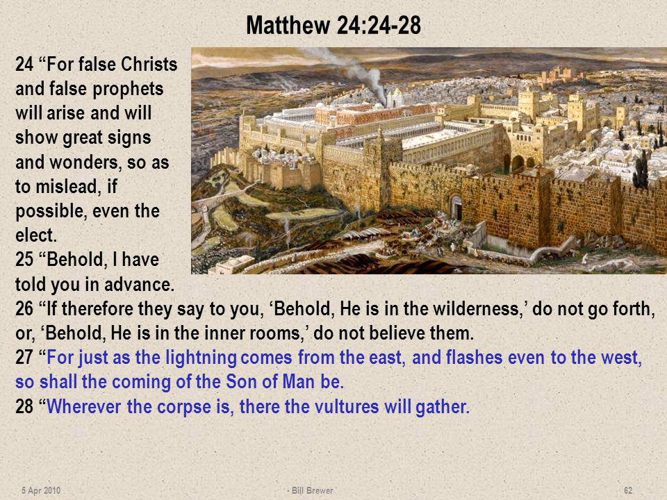 Matthew 24:24-28
