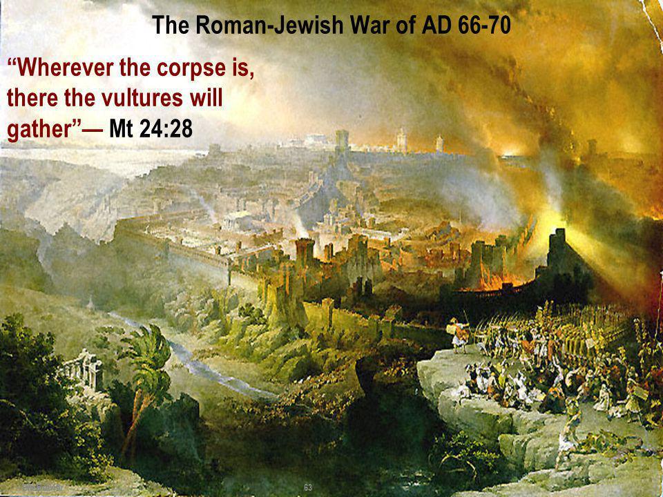 The Roman-Jewish War of AD 66-70