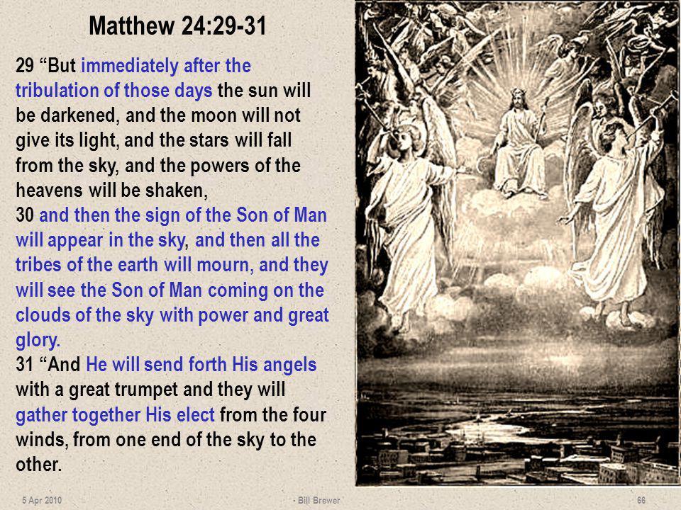 Matthew 24:29-31
