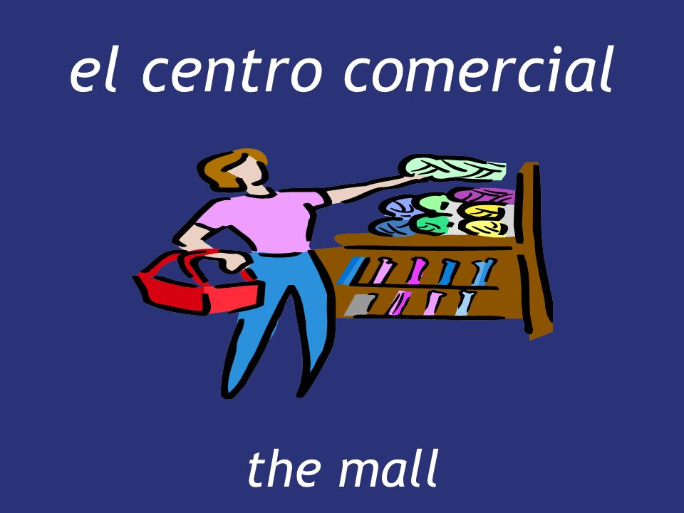 el centro comercial the mall