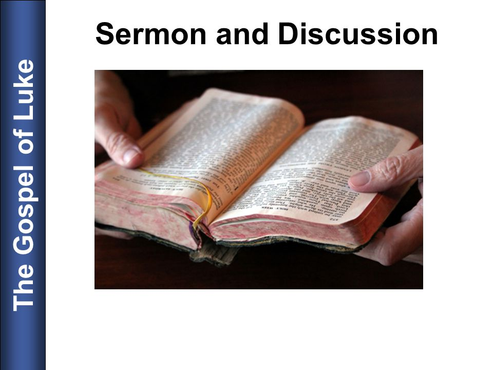 Sermon and Discussion 23