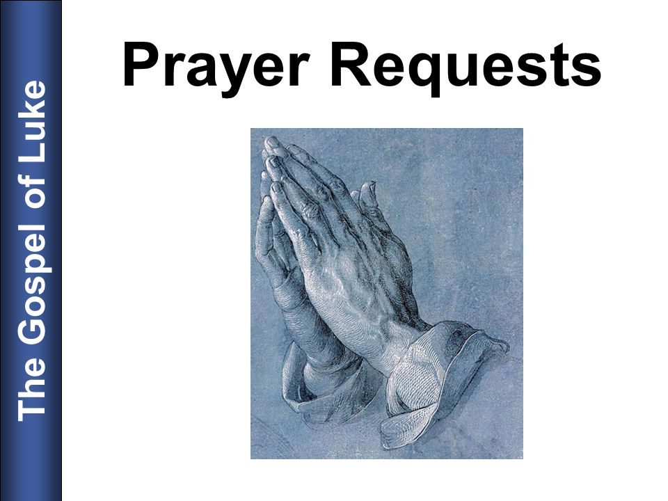 Prayer Requests 8