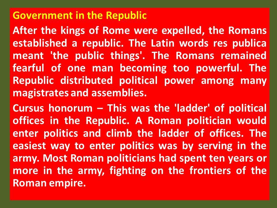 Government in the Republic