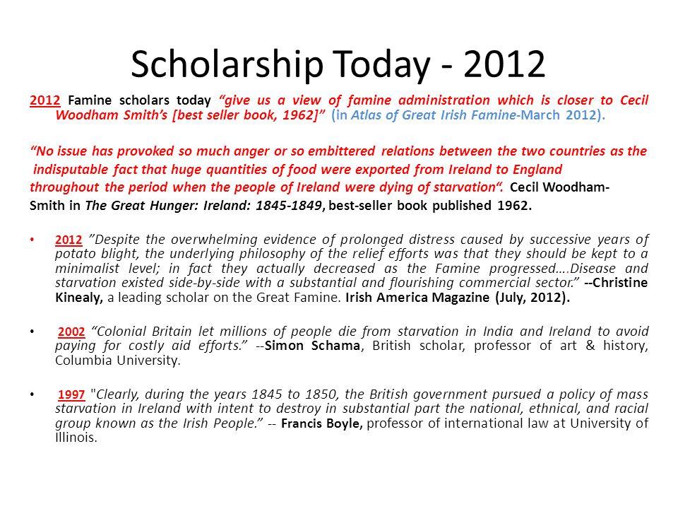 Scholarship Today - 2012