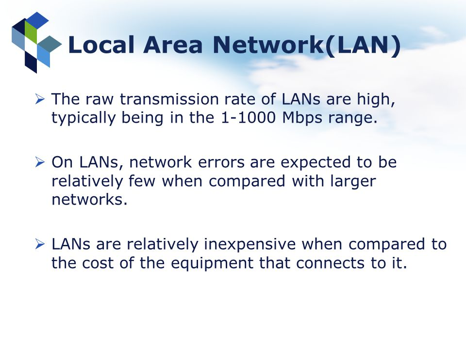 Local Area Network(LAN)