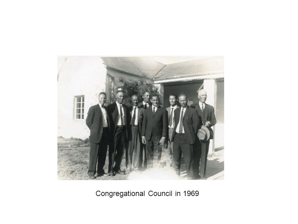 Congregational Council in 1969