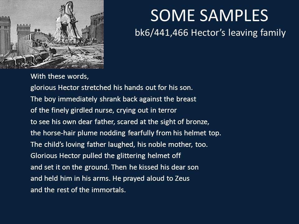 SOME SAMPLES bk6/441,466 Hector's leaving family