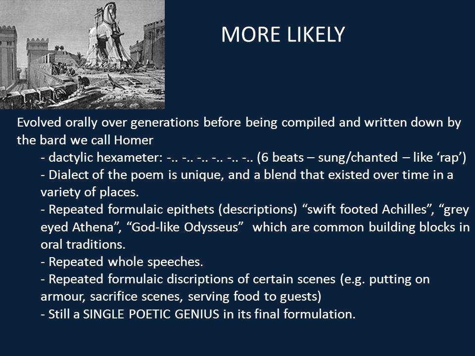 a description of how did homer create his poems iliad and odyssey Homer of ancient greece: mythology & poetry custom courses are courses that you create from study homer wrote his famous iliad and odyssey in a metrical form.