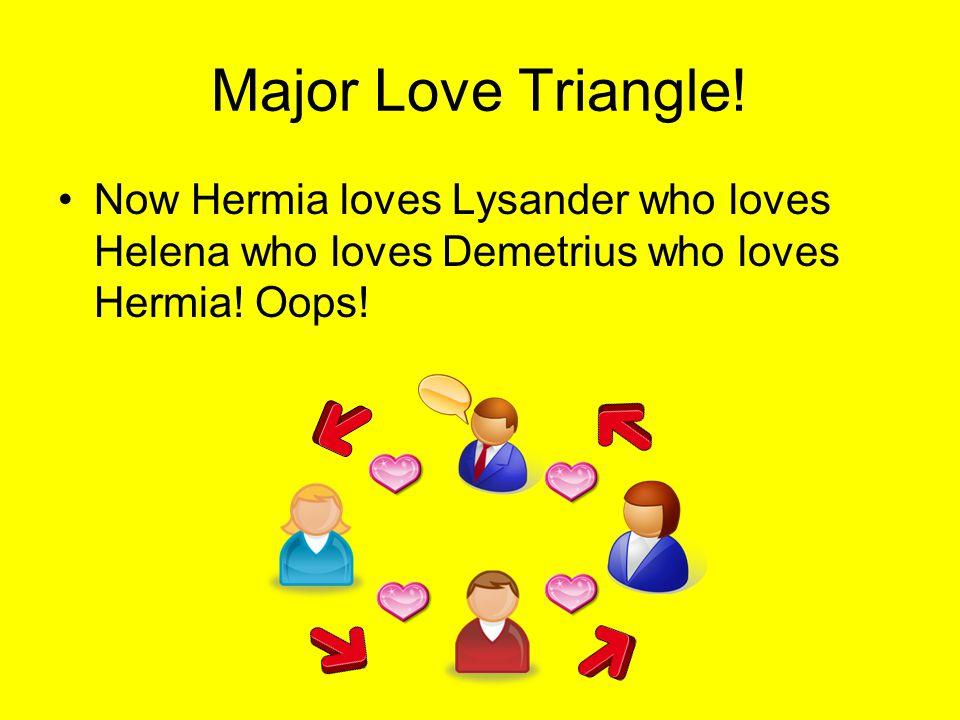 Major Love Triangle.