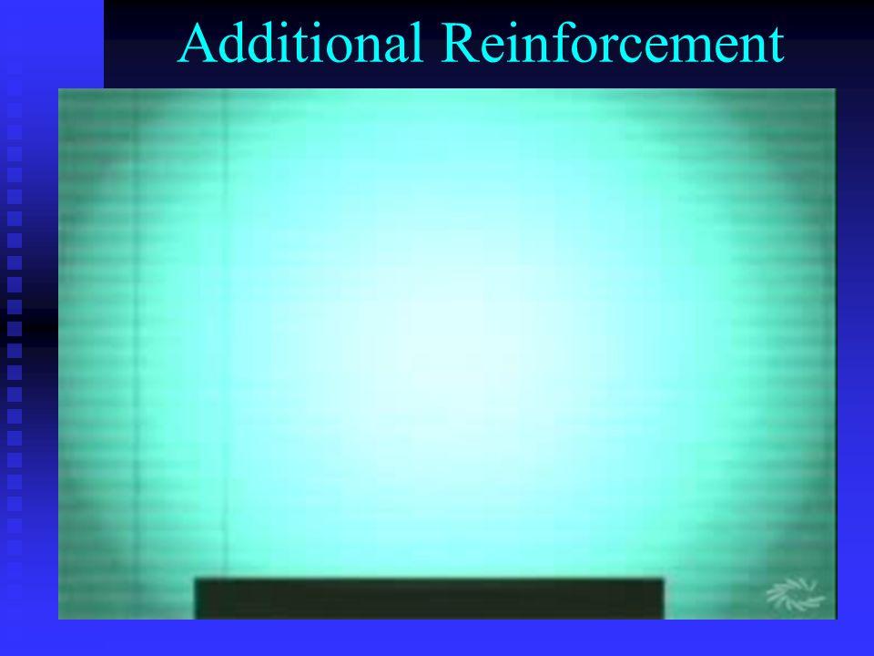 Additional Reinforcement