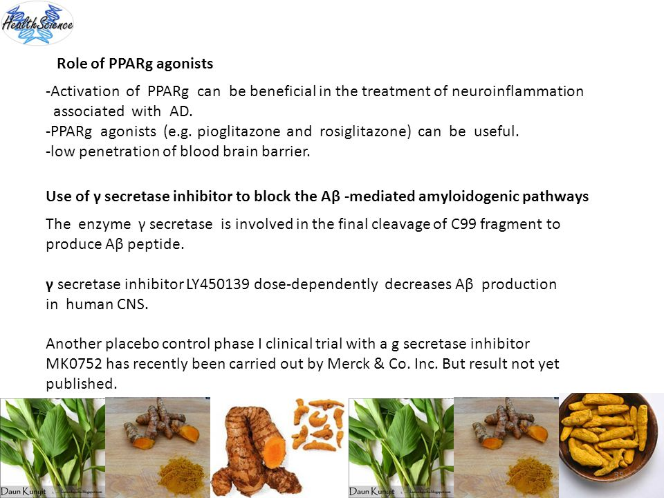 Role of PPARg agonists -Activation of PPARg can be beneficial in the treatment of neuroinflammation.