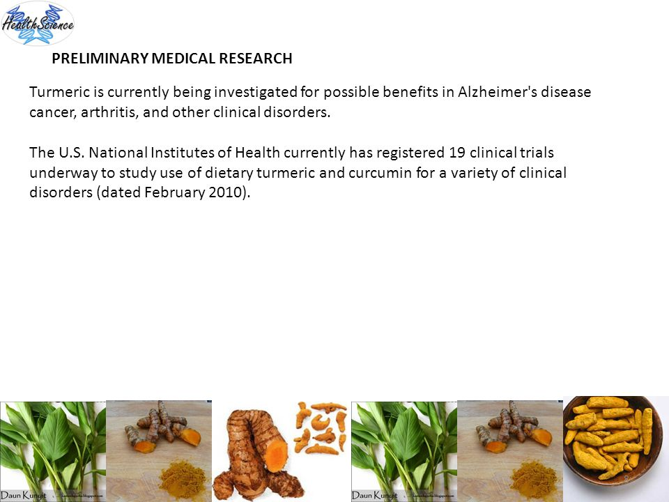 PRELIMINARY MEDICAL RESEARCH