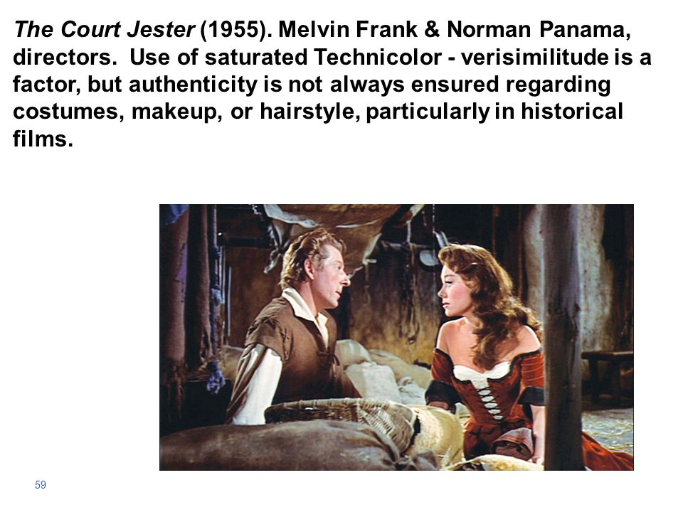 The Court Jester (1955). Melvin Frank & Norman Panama, directors