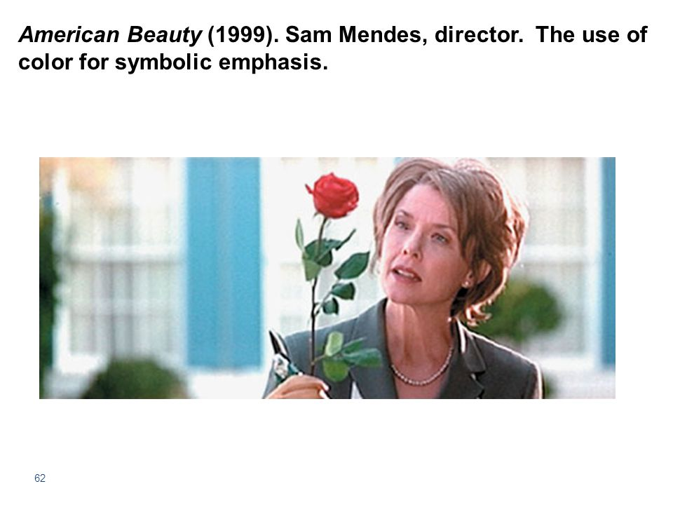 American Beauty (1999). Sam Mendes, director