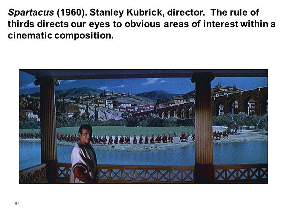 Spartacus (1960). Stanley Kubrick, director