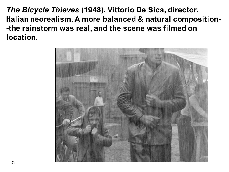 The Bicycle Thieves (1948). Vittorio De Sica, director
