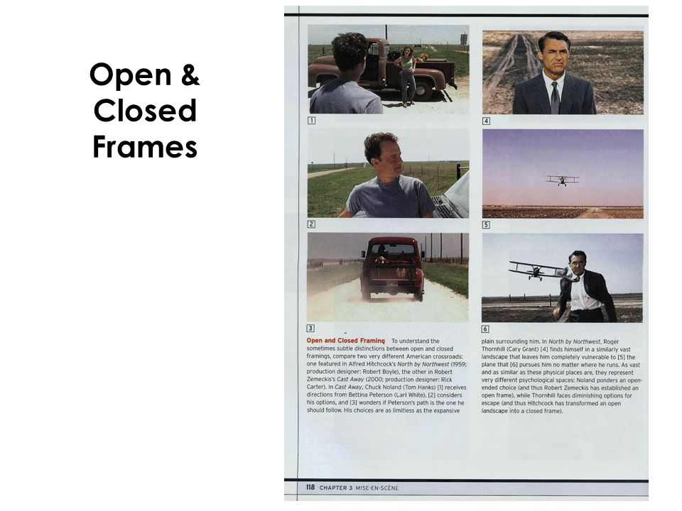 Open & Closed Frames