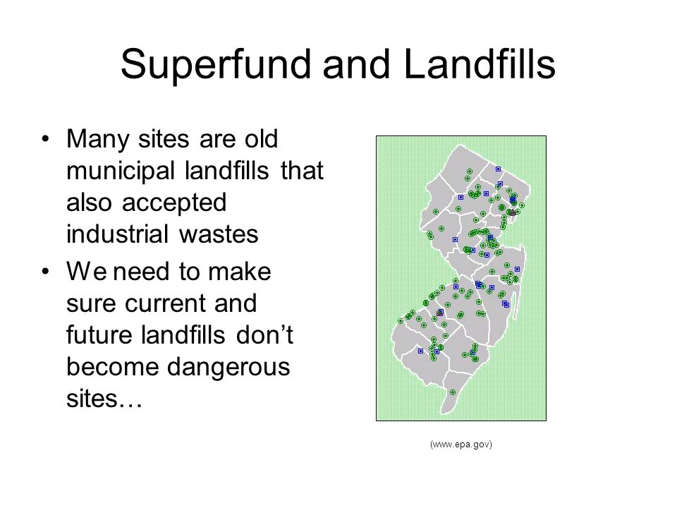 Superfund and Landfills