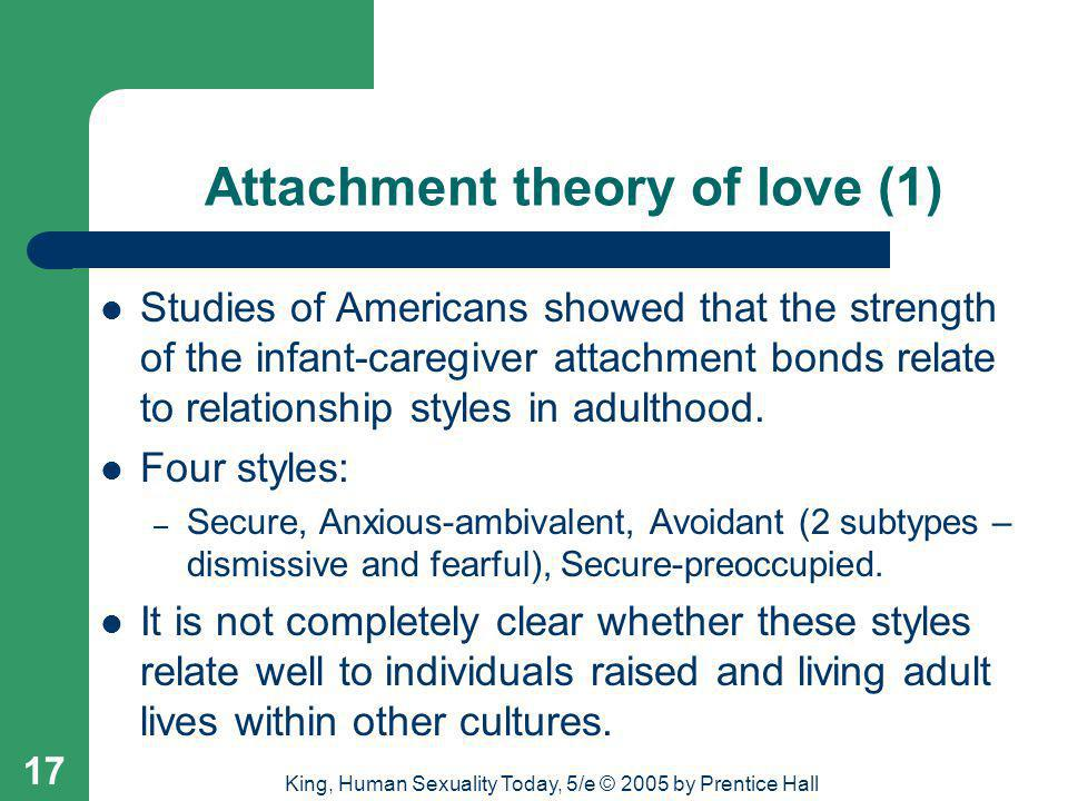 Attachment theory of love (1)