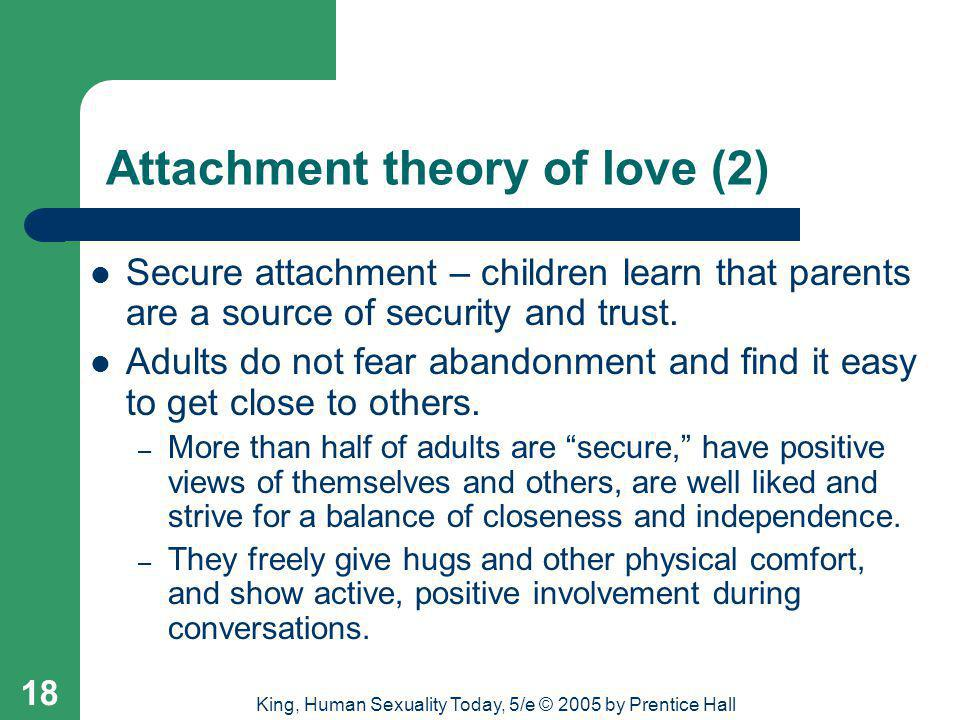 Attachment theory of love (2)