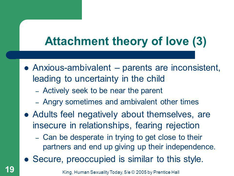 Attachment theory of love (3)