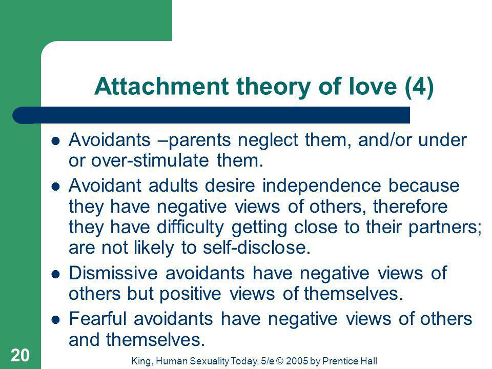 Attachment theory of love (4)