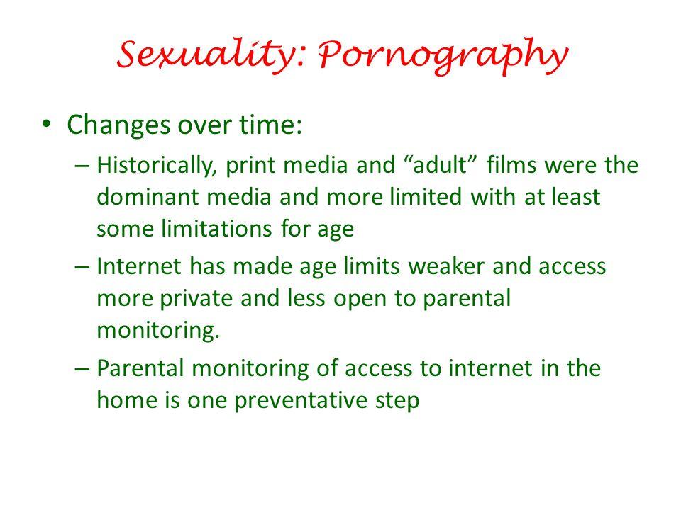 Sexuality: Pornography