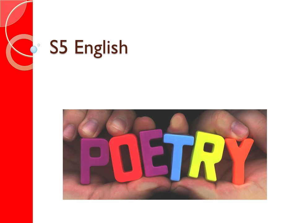S5 English