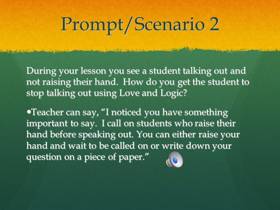 Prompt/Scenario 2