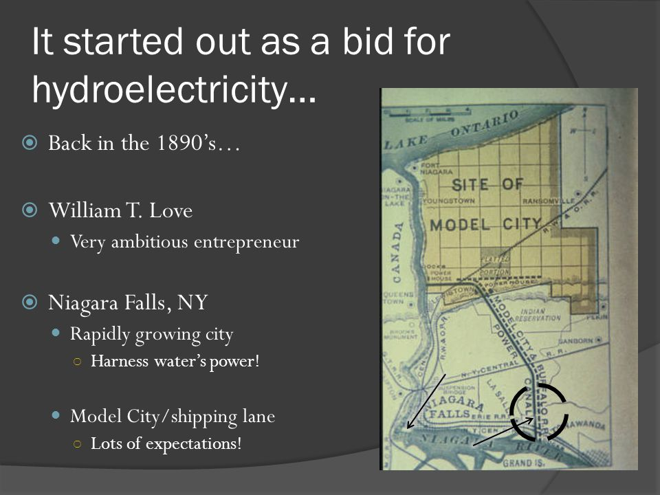 It started out as a bid for hydroelectricity…