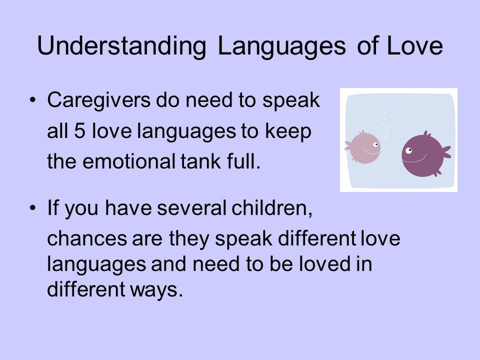 Understanding Languages of Love