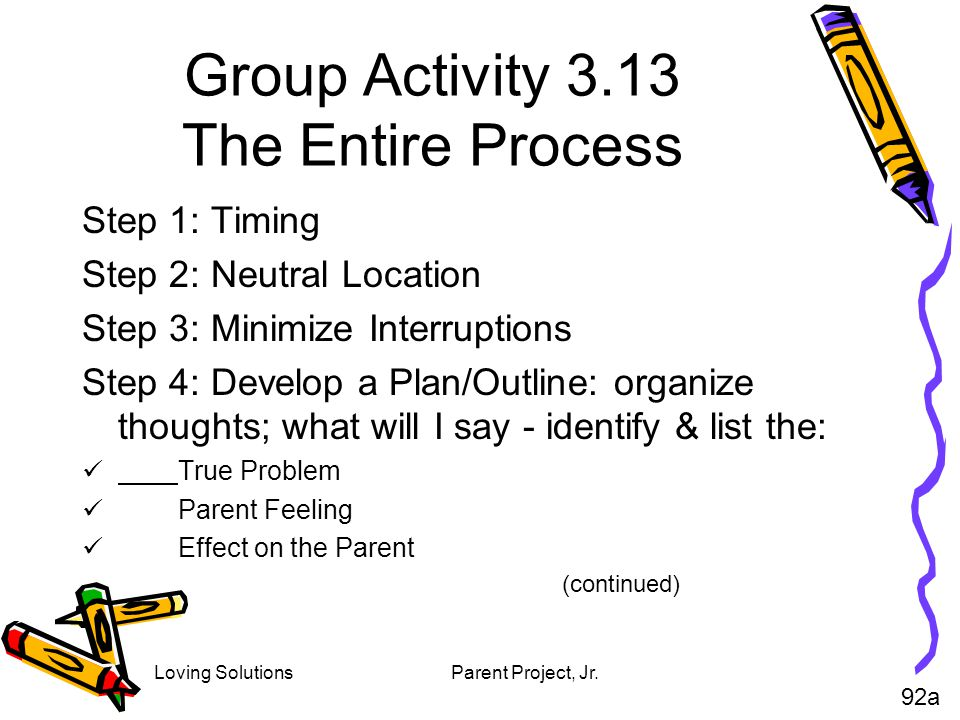 Group Activity 3.13 The Entire Process