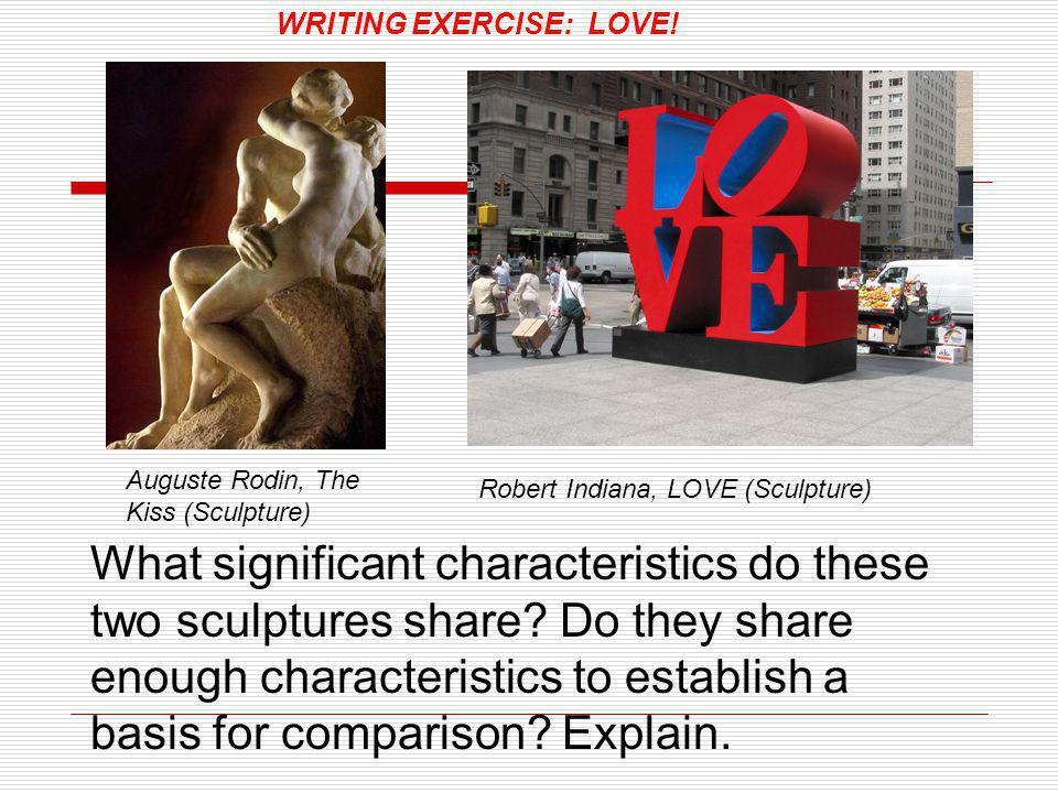 WRITING EXERCISE: LOVE!