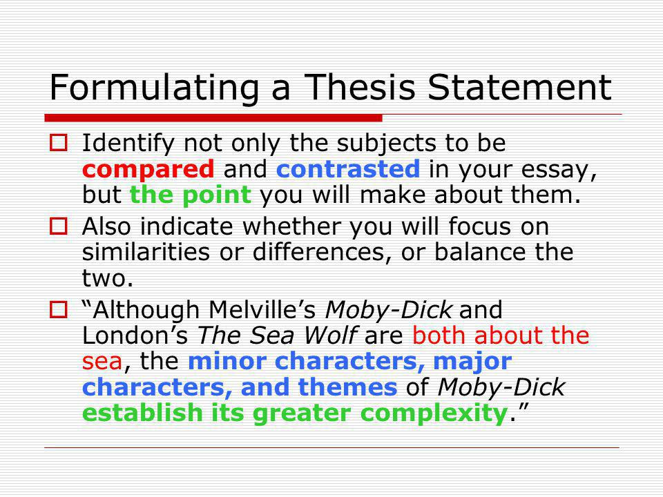 writing compare contrast essay thesis Compare and contrast essay detailed writing guide with structure patterns, introduction and conclusion techniques, useful examples, tips and best practices.
