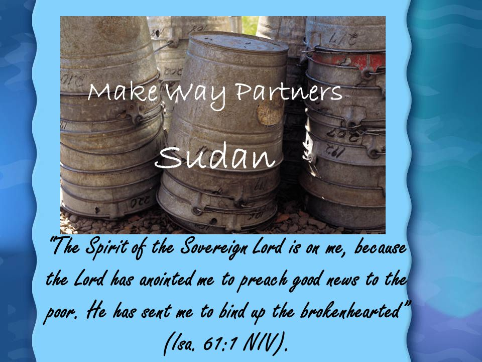 Sudan Make Way Partners