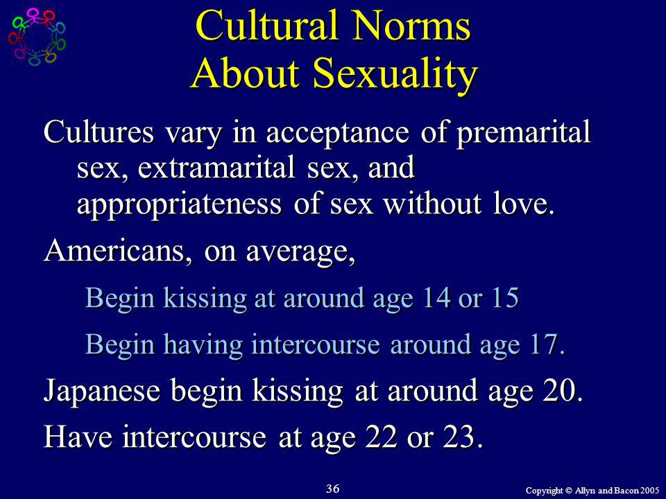 Cultural Norms About Sexuality