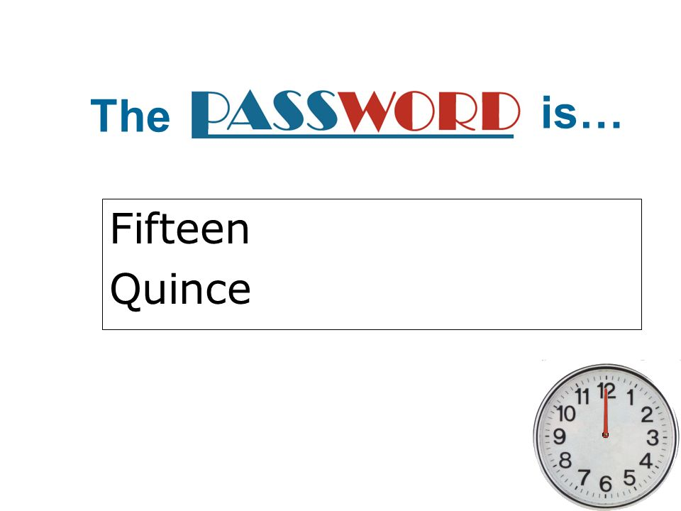 The is… Fifteen Quince